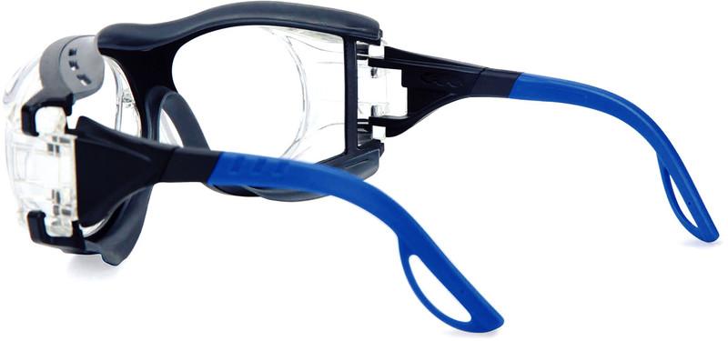 schutzbrille infield optor plus schwarz blau mit vorgefertigter sehst rke jetzt kaufen im. Black Bedroom Furniture Sets. Home Design Ideas