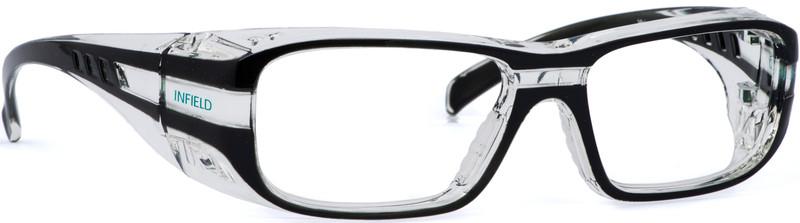 schutzbrille infield vision 12 in schwarz mit individueller st rke jetzt kaufen im layer. Black Bedroom Furniture Sets. Home Design Ideas
