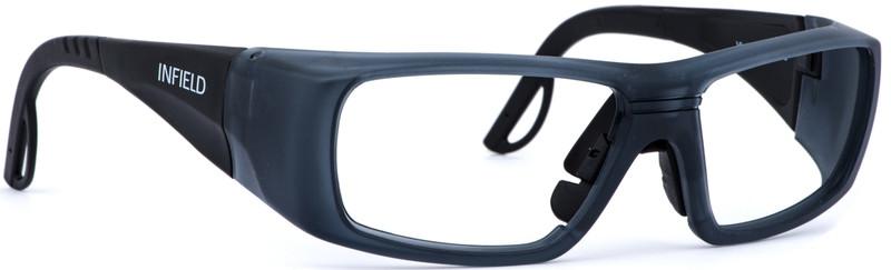 schutzbrille infield vision 11 in schwarz mit individueller st rke jetzt kaufen im layer. Black Bedroom Furniture Sets. Home Design Ideas