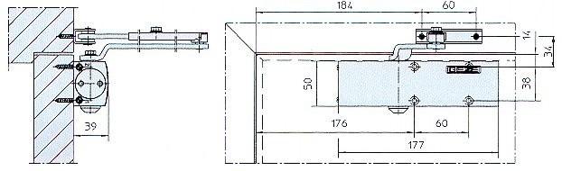 t rschlie er geze ts 1500 bis 1100 mm fb inkl gest nge jetzt kaufen im layer onlineshop. Black Bedroom Furniture Sets. Home Design Ideas