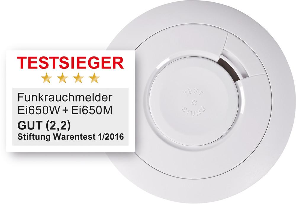 Funkrauchwarnmelder Ei Electronics Ei650w Mit 10 Jahres