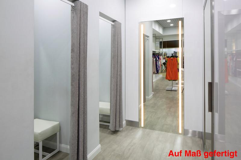 led spiegel beleuchtet alu style standard oder auf ma jetzt kaufen im layer onlineshop. Black Bedroom Furniture Sets. Home Design Ideas