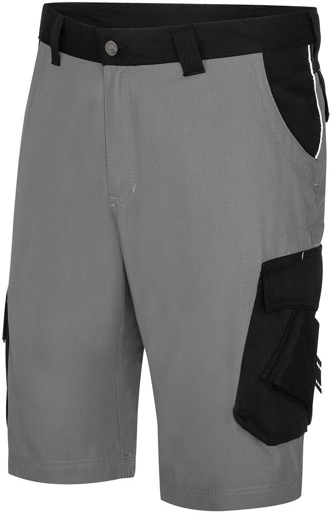 FHB Arbeitshose Shorts THEO 130530 1120 grau schwarz
