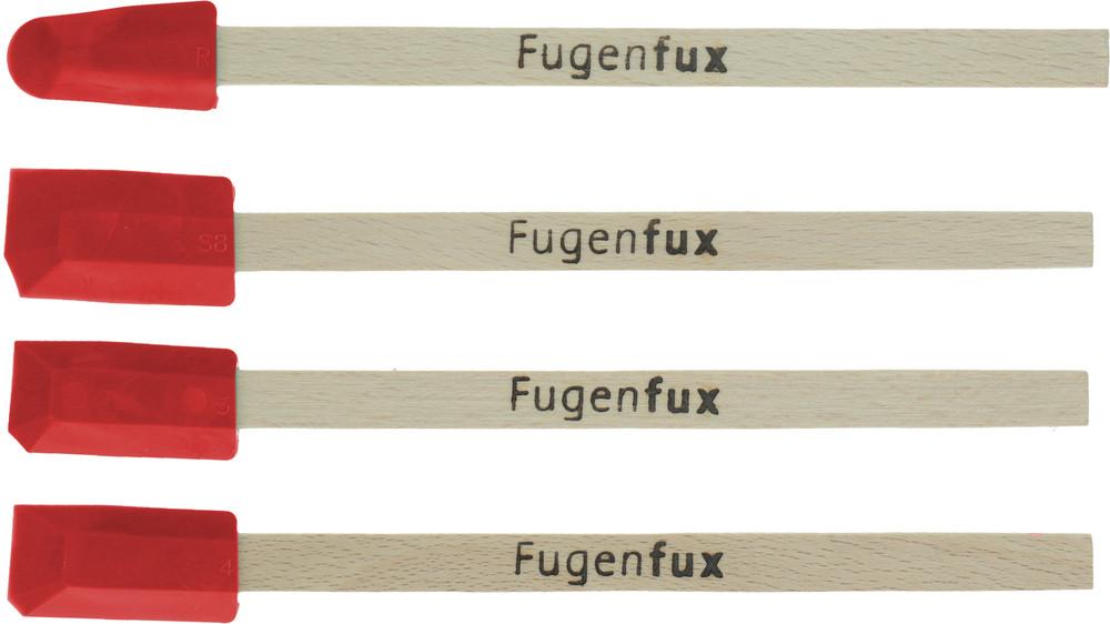 silikon abzieher set fugenfux f t a 4 tlg f r fenster. Black Bedroom Furniture Sets. Home Design Ideas