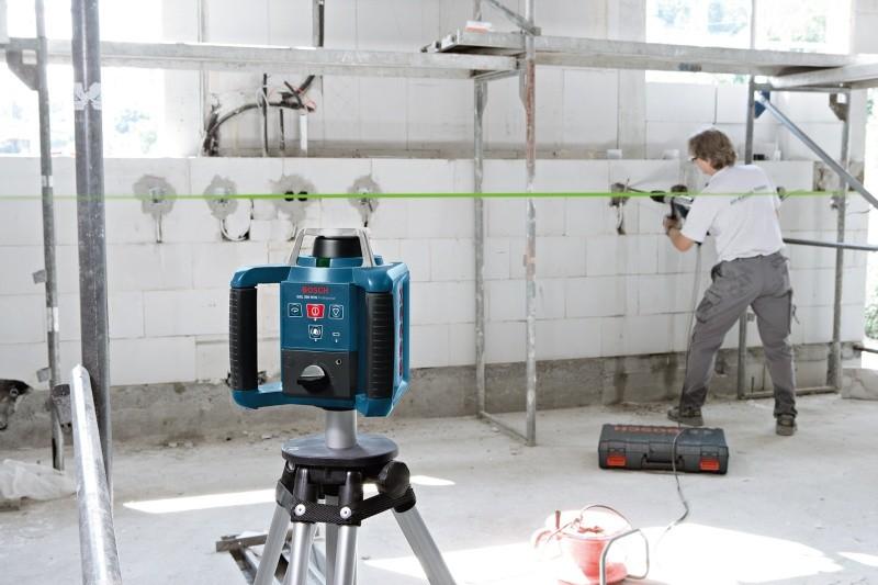 Bosch Laser Entfernungsmesser Grün Oder Blau : Rotationslaser bosch grl hvg set professional · jetzt kaufen