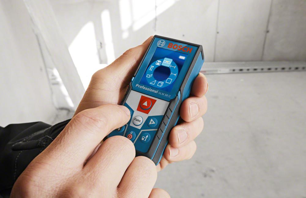 Digitaler Entfernungsmesser Bosch : Laser entfernungsmesser bosch glm c professional · jetzt